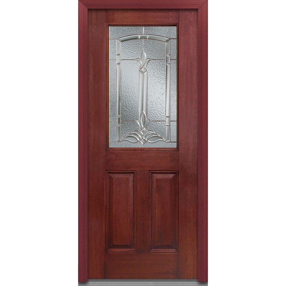 MMI Door 36 In. X 80 In. Bristol Left-Hand 1/2 Lite 2