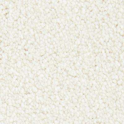Playful Moments II - Magic Pearl Textured Solid 12 ft. Carpet