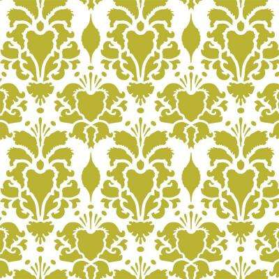 Hillsborough Damask Wall Stencil - 19.5 in. x 19.5 in. Stencil Sheet