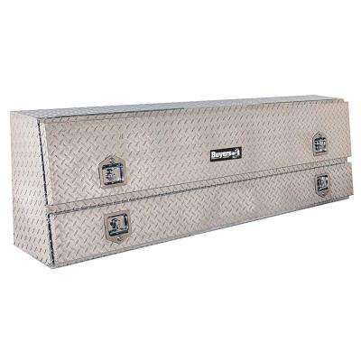 96 in. Contractor Aluminum Topsider Tool Box with T-Handle Latch