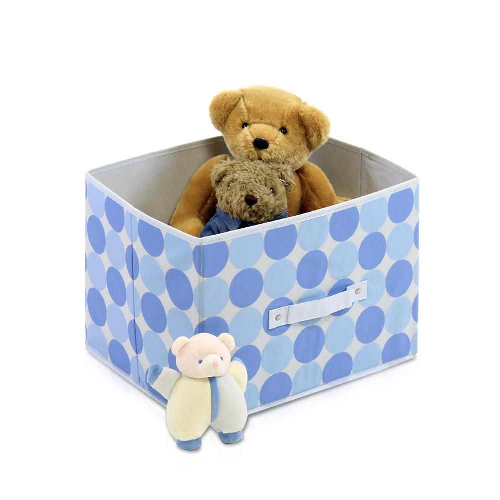 Furinno Laci Blue Fabric Soft Storage Organizer (3-Pack) 3-11144BL