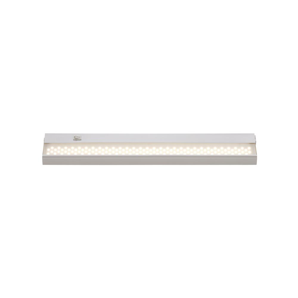 Signature 21 in. LED White Under Cabinet Light with Opal Shade