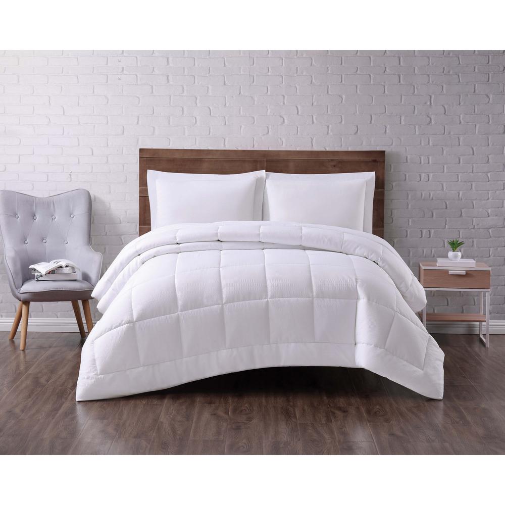 Seersucker Down Alternative Comforter