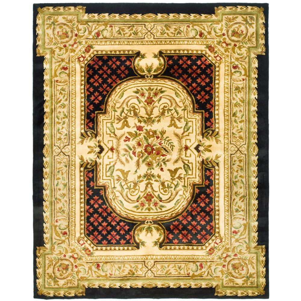 Classic Black 8 ft. 3 in. x 11 ft. Area Rug