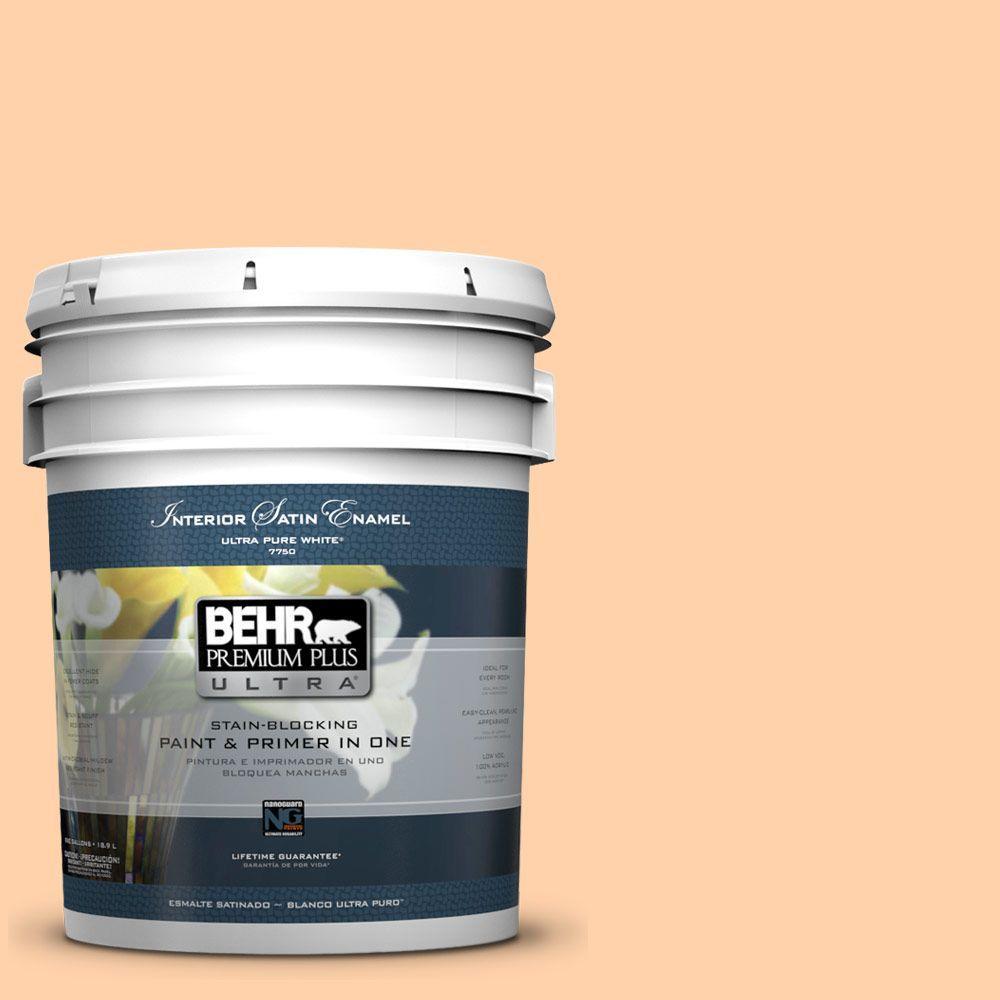 BEHR Premium Plus Ultra 5-gal. #270A-3 Luminary Satin Enamel Interior Paint