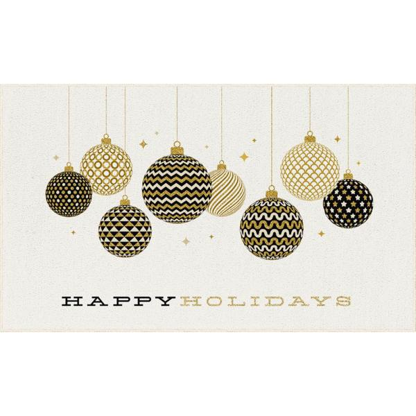 Mohawk Home Holiday Ornaments Gold 2 Ft 6 In X 4 Ft 2 In Scatter Area Rug 079985 The Home Depot