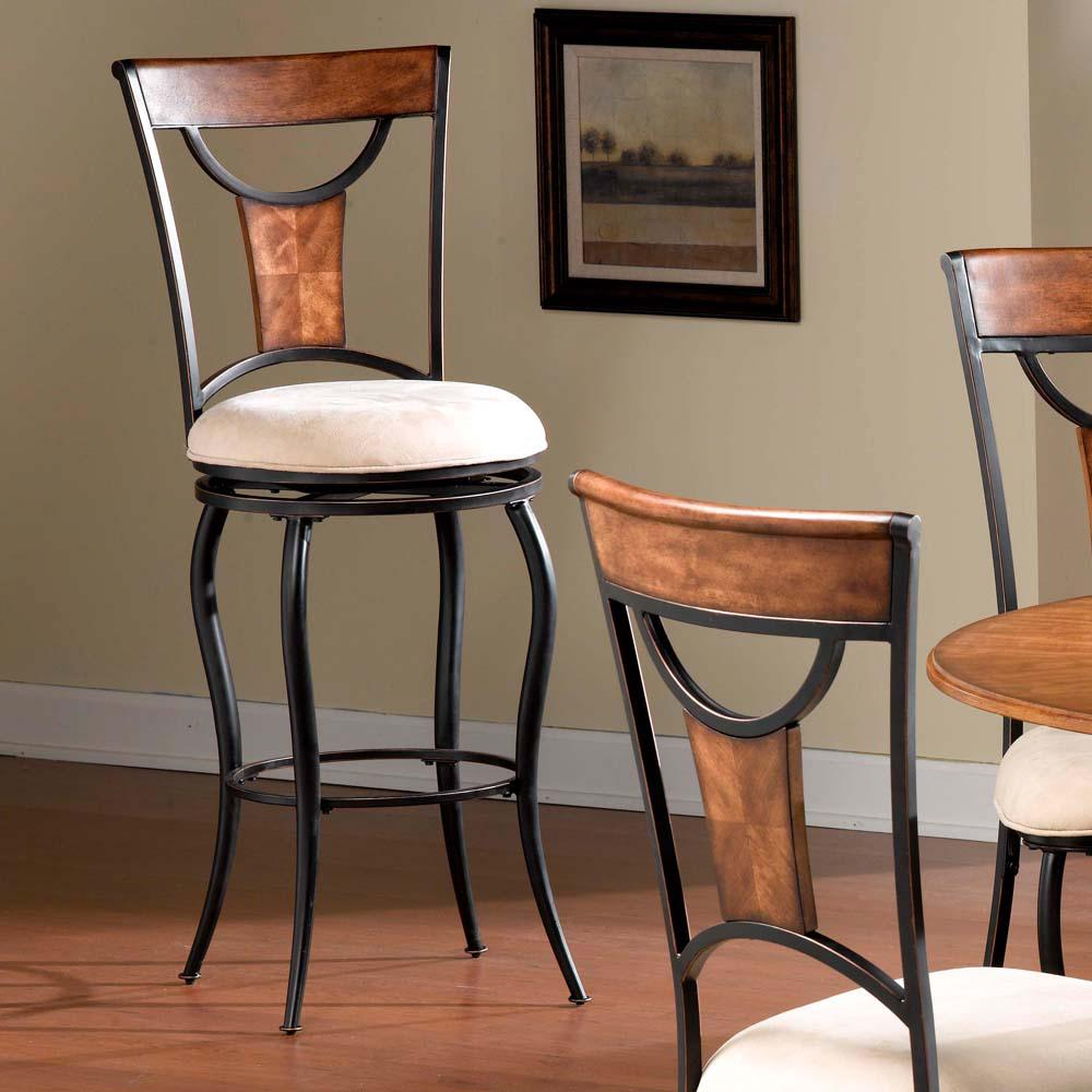 Hillsdale furniture pacifico in black and copper