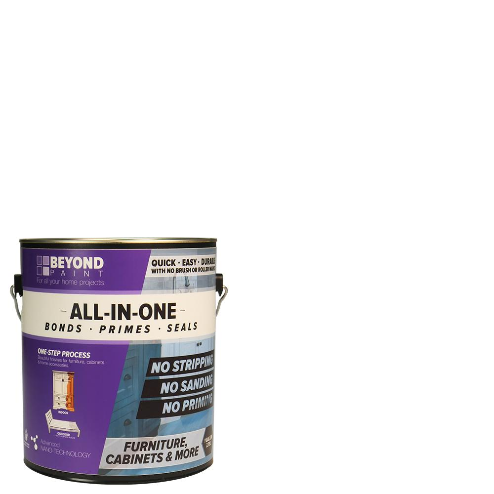 Beyond Paint 1 gal. Bright White Furniture, Cabinets and More Multi-Surface All-in-One Refinishing Paint