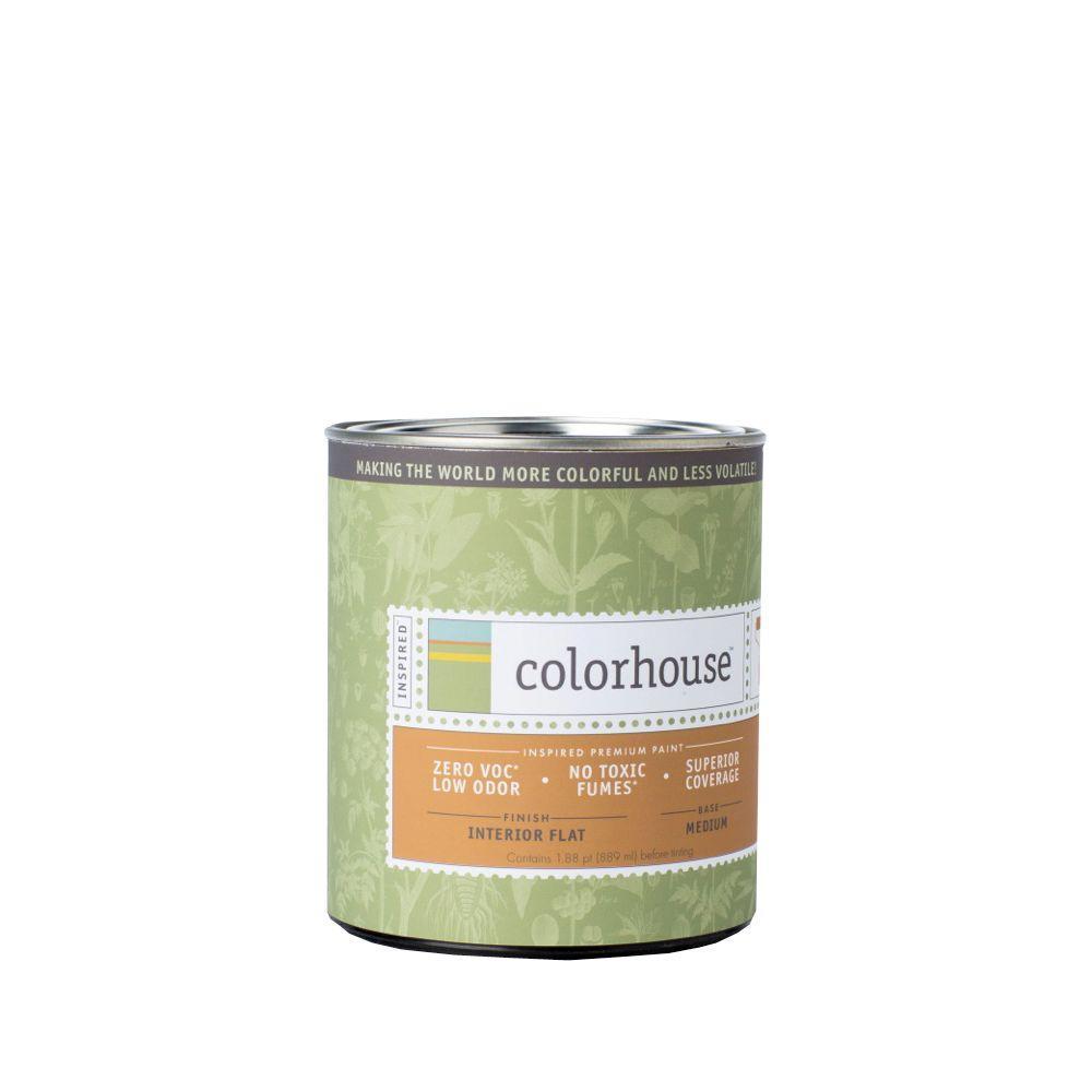 1 qt. White Base Flat Interior Paint