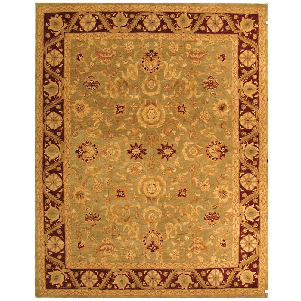 Safavieh Anatolia Light Green/Red 9 ft. x 12 ft. Area Rug