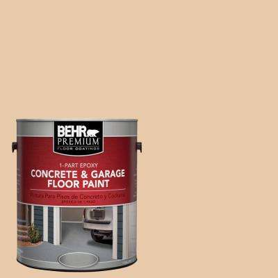 1 Gal. #S250-2 Almond Biscuit 1-Part Epoxy Concrete and Garage Floor Paint