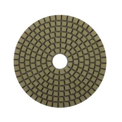 4 in. 3000 Grit Resin Wet Polishing Pad