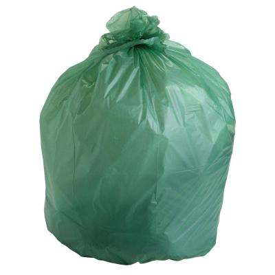 64 Gal. EcoSafe Compostable Trash Bags (30 Per Box)