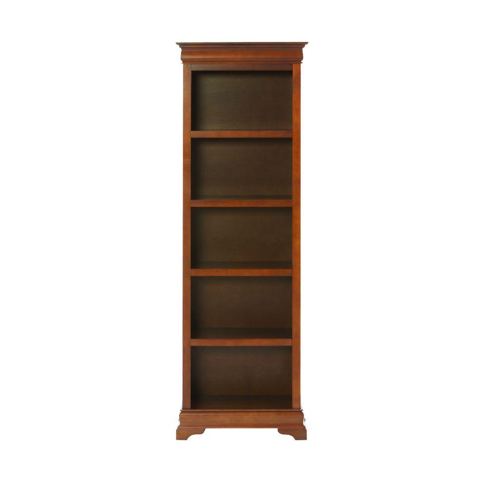 "HomeDecoratorsCollection Home Decorators Collection Louis Philippe Sequoia 23.75"" W 5 Shelf Open Bookcase"