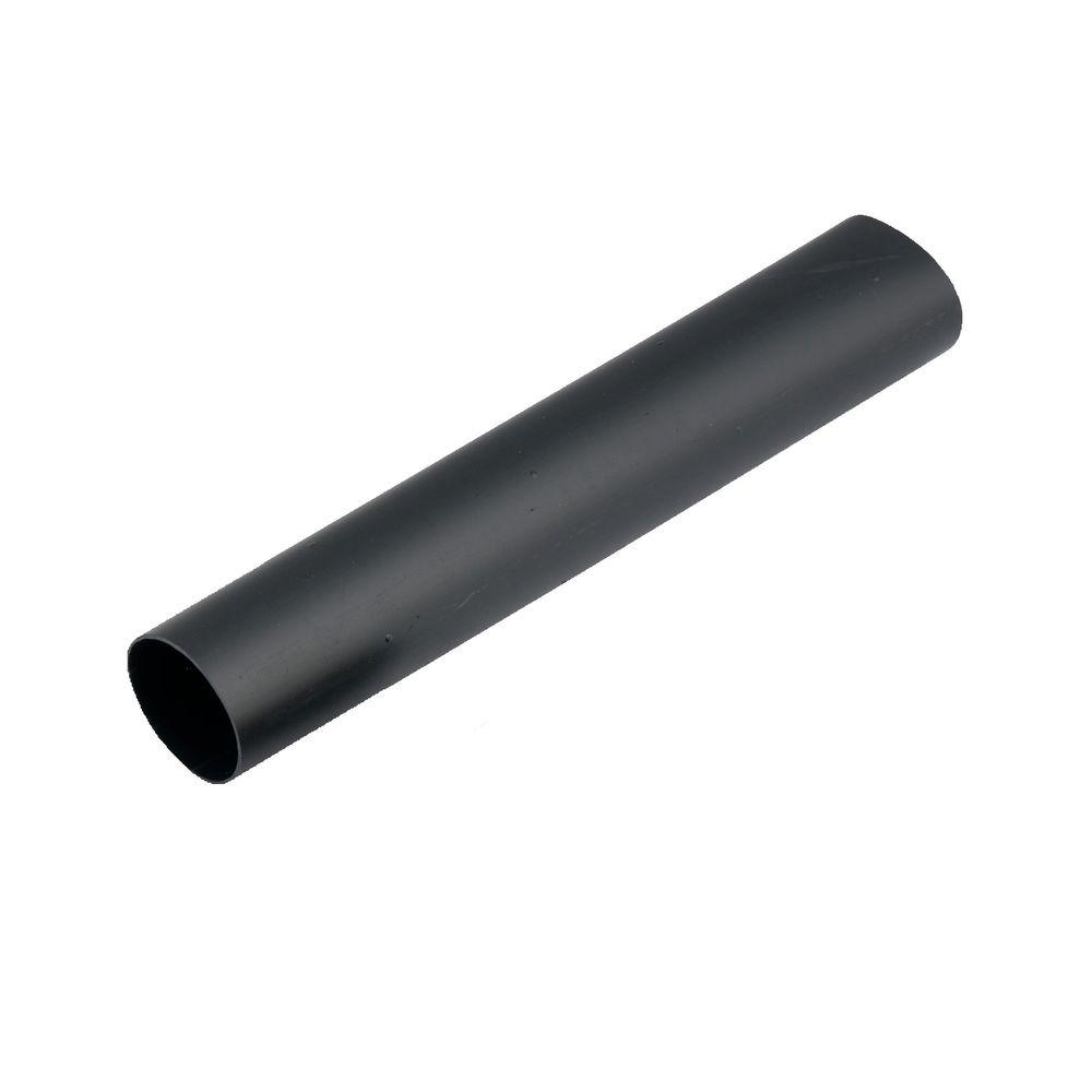 12-6 AWG Heavy-Wall Heat-Shrink Tubing, Black (2-Pack)