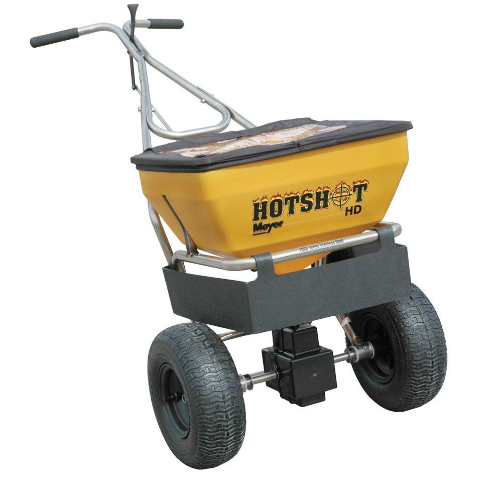 Meyer 70 lb. Capacity Walk-Behind Broadcast Spreader