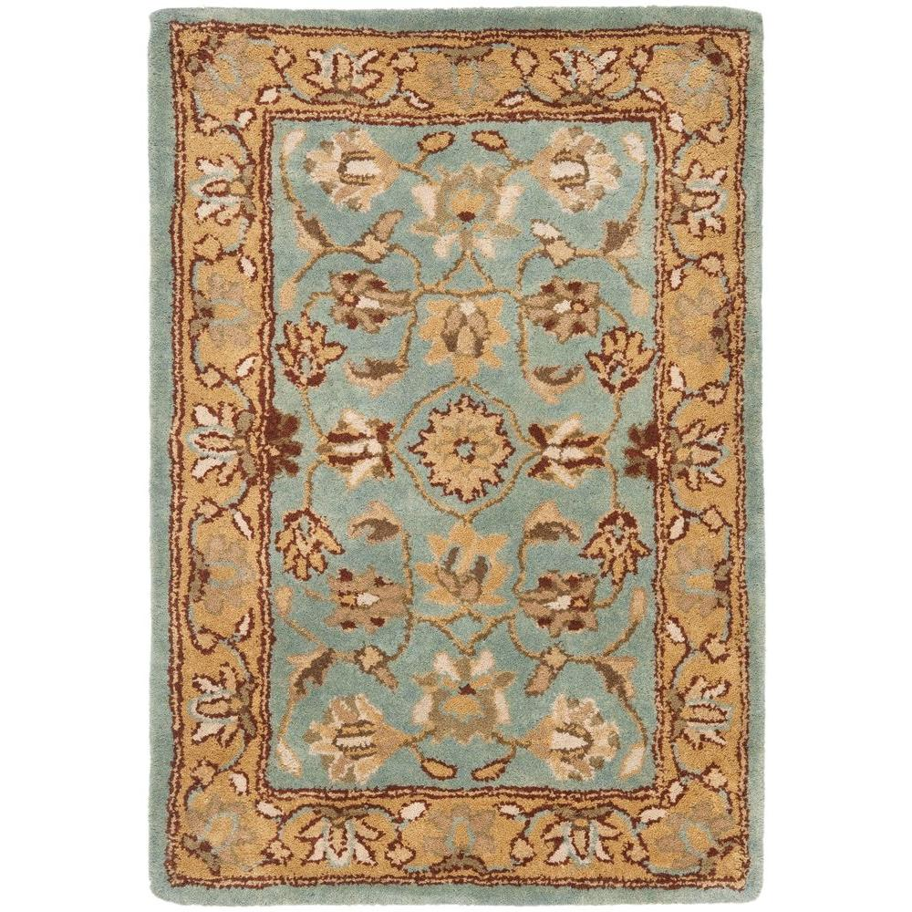 Heritage Blue/Gold 3 ft. x 5 ft. Area Rug