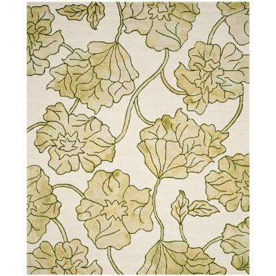 Very Green - 8 X 10 - Area Rugs - Rugs - The Home Depot OT32