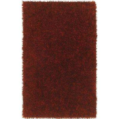 DECADENT 1 PAPRIKA 5 FT. X 7 FT. 6 IN.  AREA RUG