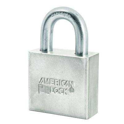 2 in. Chrome-Plated Solid Steel Padlock