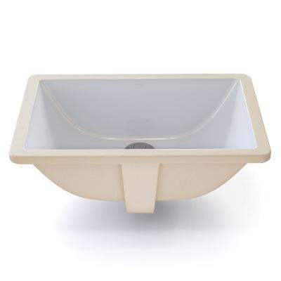 Clically Redefined Rectangular Undermount Bathroom Sink