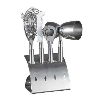 Bar Pro Stainless Steel 4-Piece Bar Set