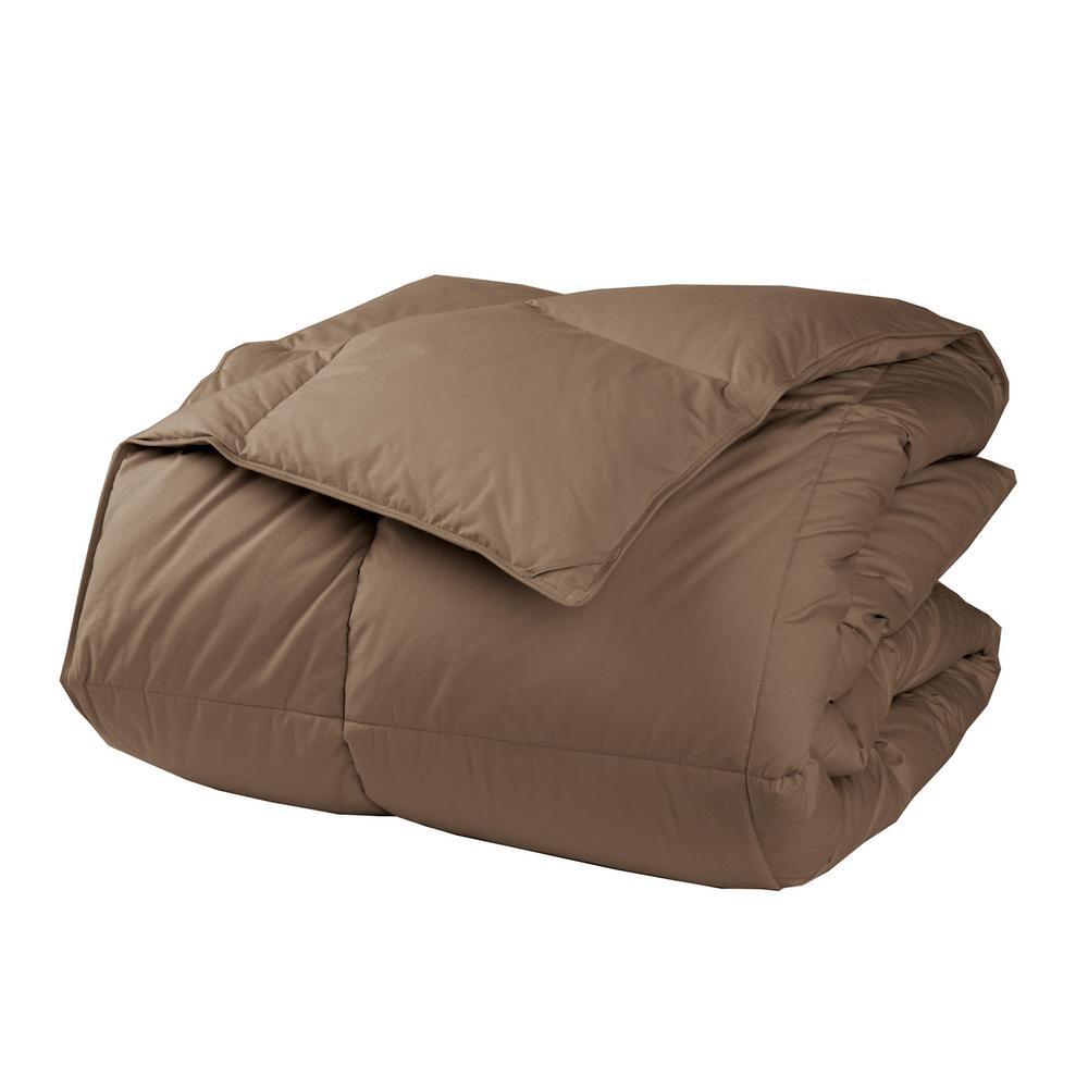 LaCrosse Mocha Queen Down Comforter
