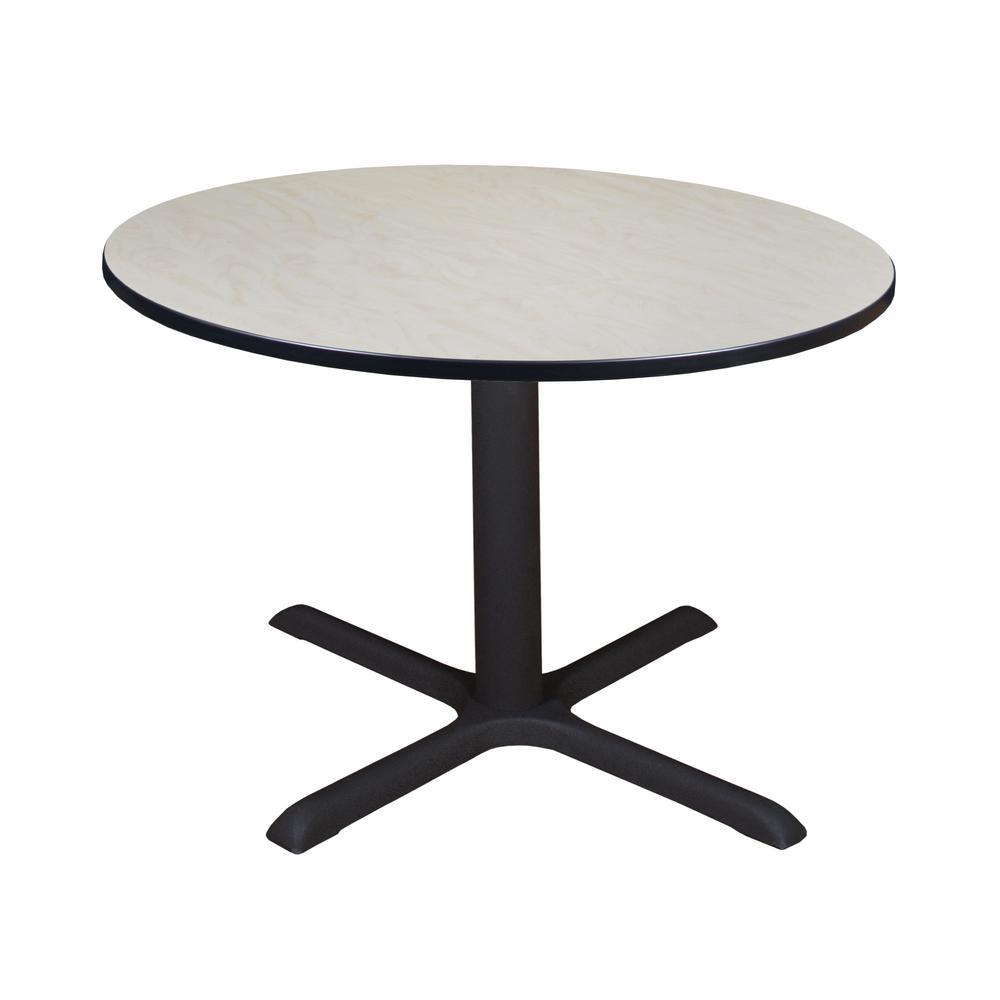 Regency Cain Maple Round 48 in. Breakroom Table