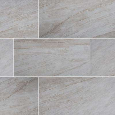 Vigo Gris 12 in. x 24 in. Matte Ceramic Floor and Wall Tile (16 sq. ft./case)