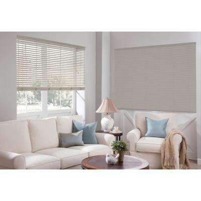 Designer 2 in. Faux Wood Blind