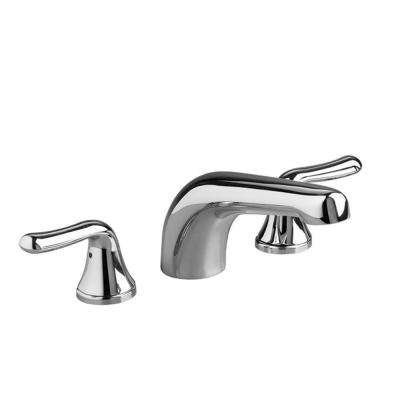 Colony Soft Lever 2-Handle Deck-Mount Roman Tub Faucet Trim Kit in Polished Chrome (Valve Not Included)