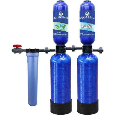 5-Stage 1,000,000 Gal. Whole House Water Filtration System with Simply Soft Salt-Free Water Conditioner