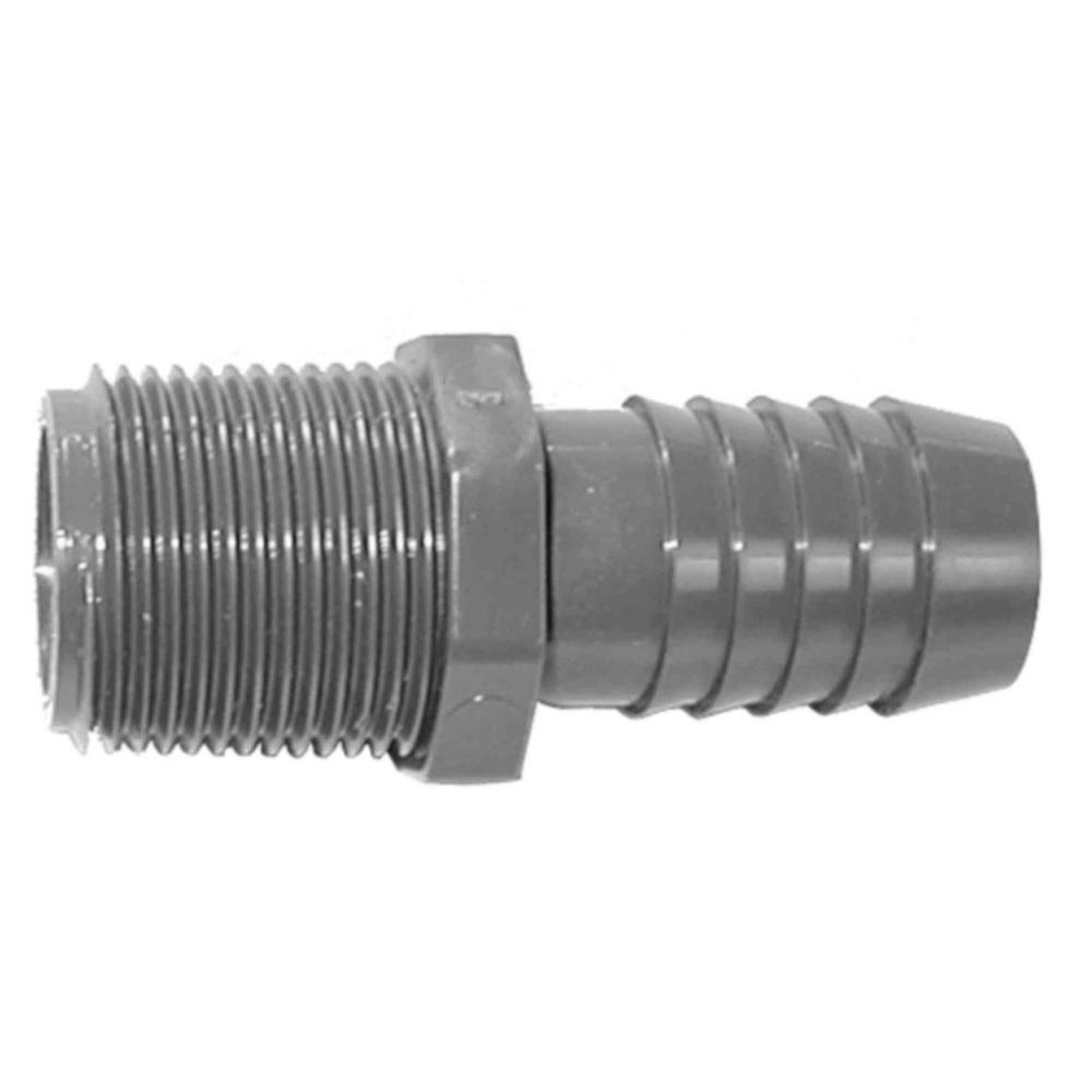 1-1/4 in. PVC Male Adapter Pipe and Fittings