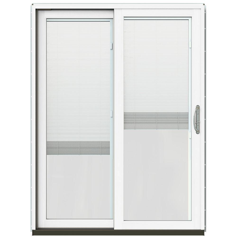Patio Door Cladding : Jeld wen in w black prehung left