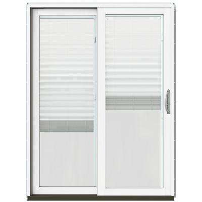 Blinds Between The Glass Brown Patio Doors Exterior Doors - Patio door blind