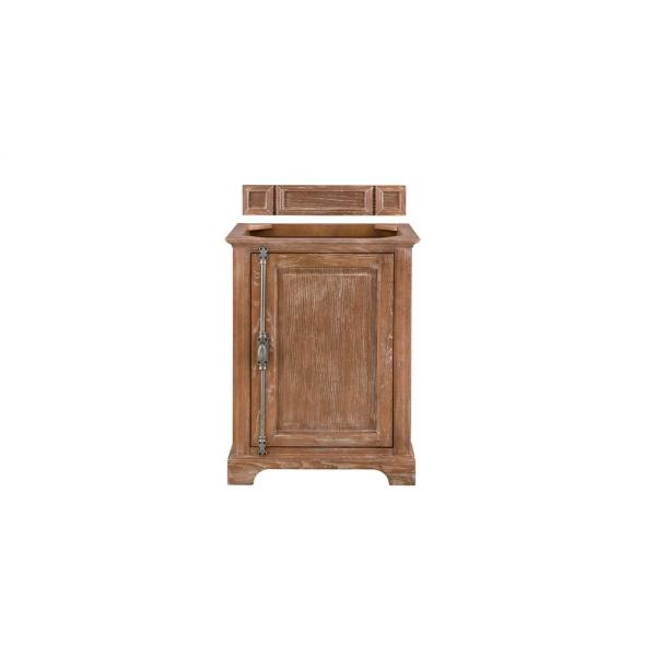 James Martin Vanities Providence 26 In W X 19 75 In D Single Bath Vanity Cabinet Only In Driftwood 238 105 V26 Drf The Home Depot