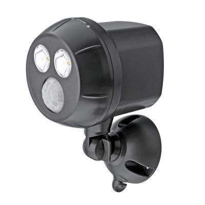 Outdoor Brown Weatherproof Wireless Battery Powered LED Ultra Bright Spot Light with Motion Sensor