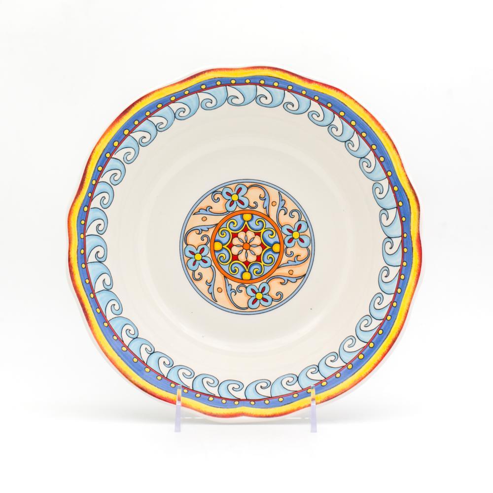 Euro Ceramica Duomo 12 in. Serving Bowl DUO-86305