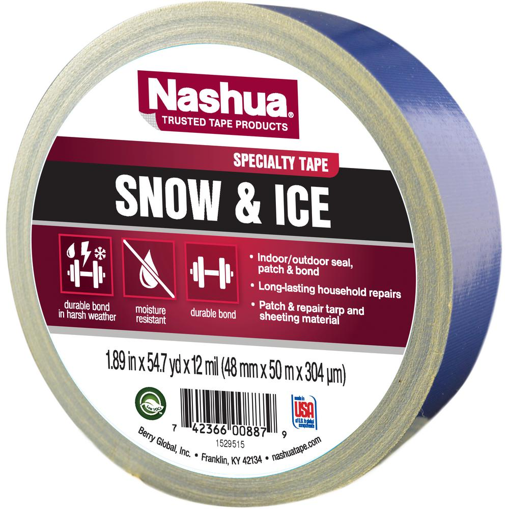 Nashua Tape 1 89 In X 55 Yd Snow And Ice Duct Tape