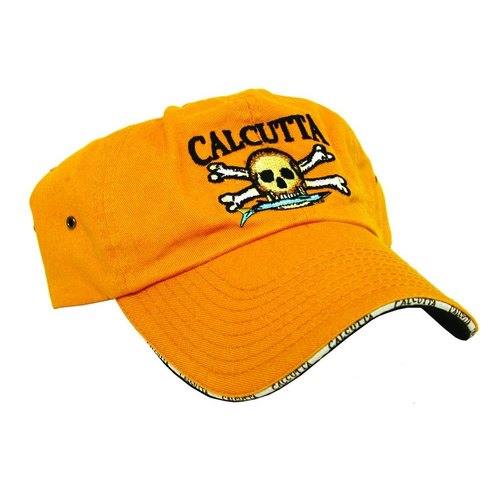 Adjustable Strap Low Profile Baseball Cap in Goldenrod with Fade-Resistant Logo