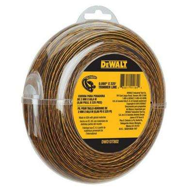 0.080 in. x 225 ft. Replacement Line for Cordless Battery Operated Bump Feed String Grass Trimmer/Lawn Edger