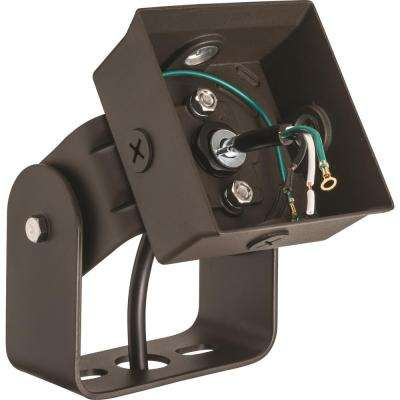 OLWX2 Bronze Outdoor Yoke Flood Light Mount Accessory