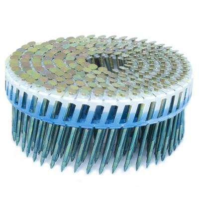 2 in. x 0.092 in. 15-Degree Smooth Galvanized Plastic Sheet Coil Siding Nail 3,200 per Box
