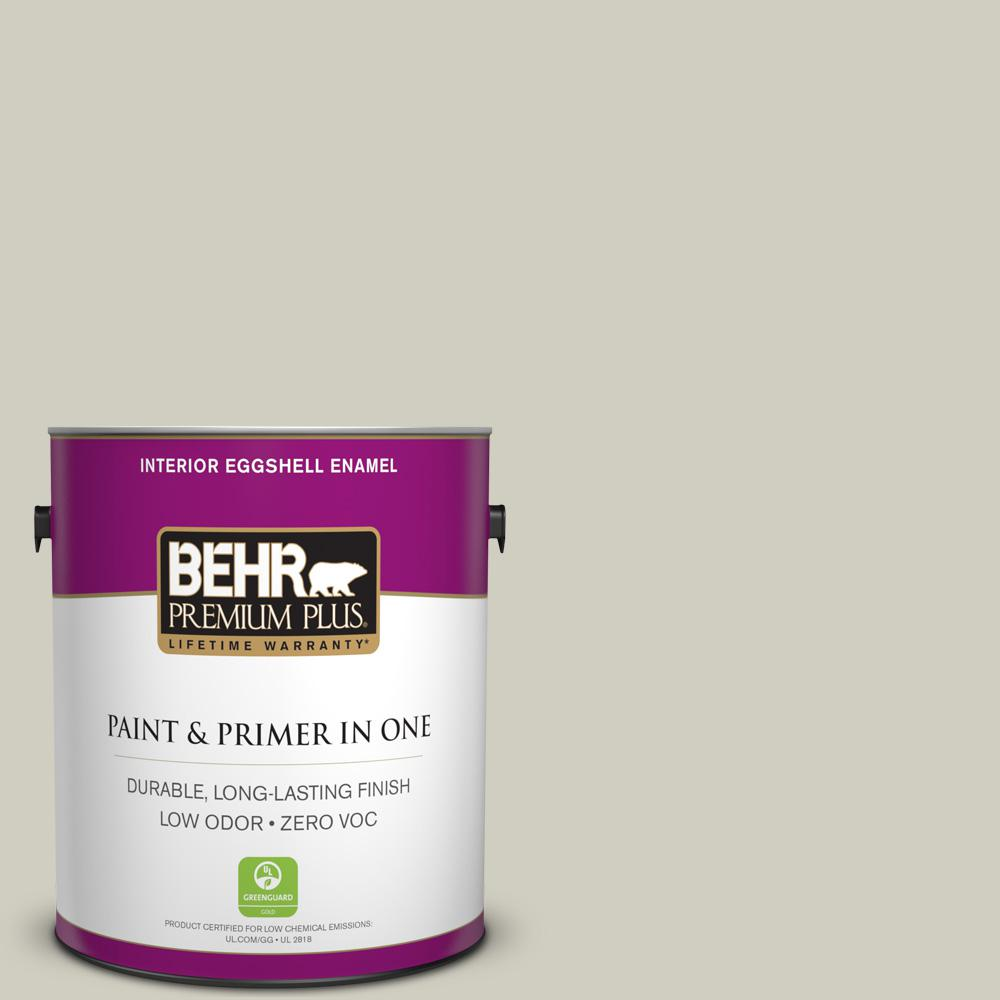 BEHR Premium Plus 1-gal. #N350-2 Sawgrass Eggshell Enamel Interior Paint
