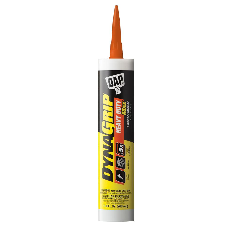 DAP DYANGRIP Heavy Duty Max 9 oz. Construction Adhesive (12-Pack)