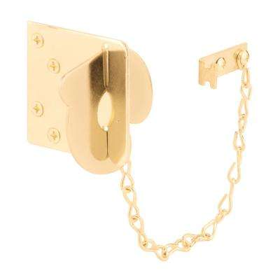 5-7/16 in. Brass-Plated Texas Security Bolt