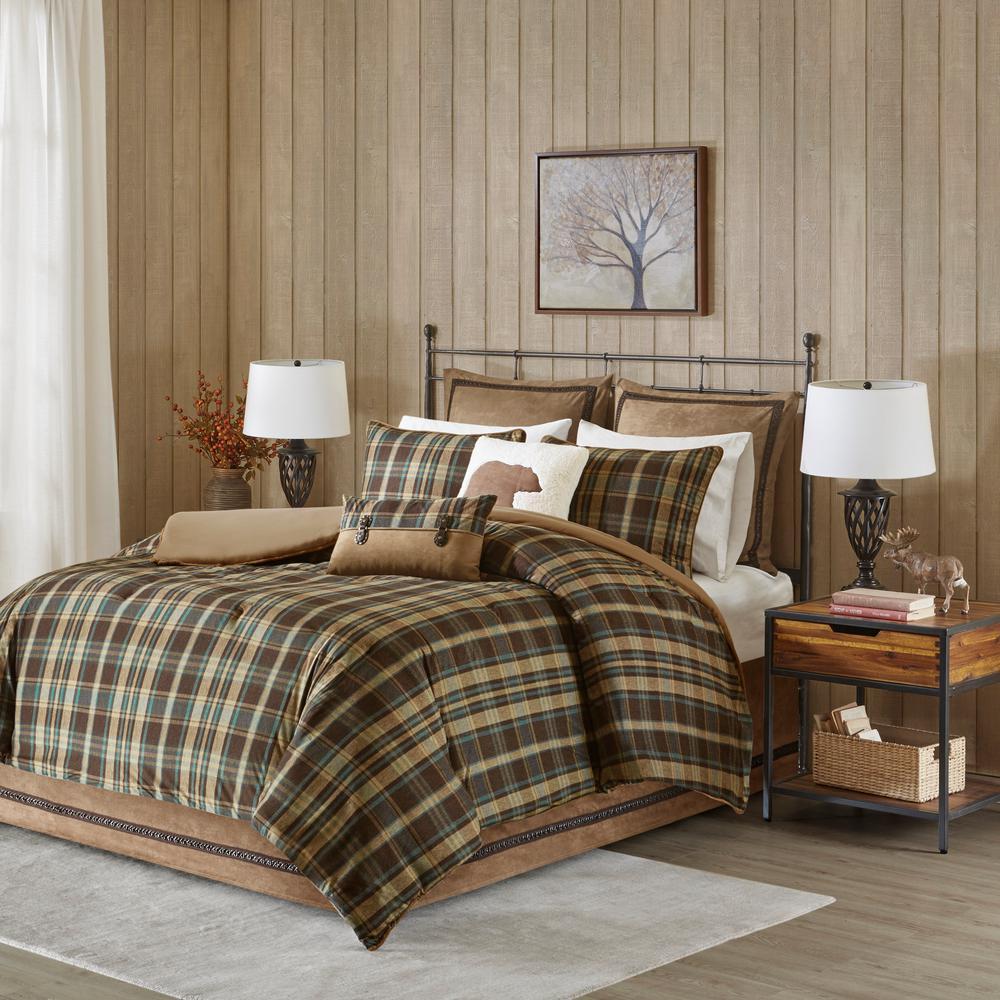 Hadley 4-Piece Multicolored Queen Comforter Set