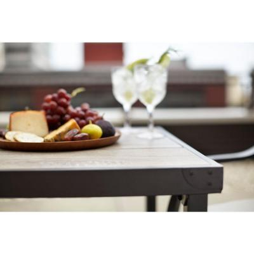 Vernon Hills 25 in. Patio Bistro Table