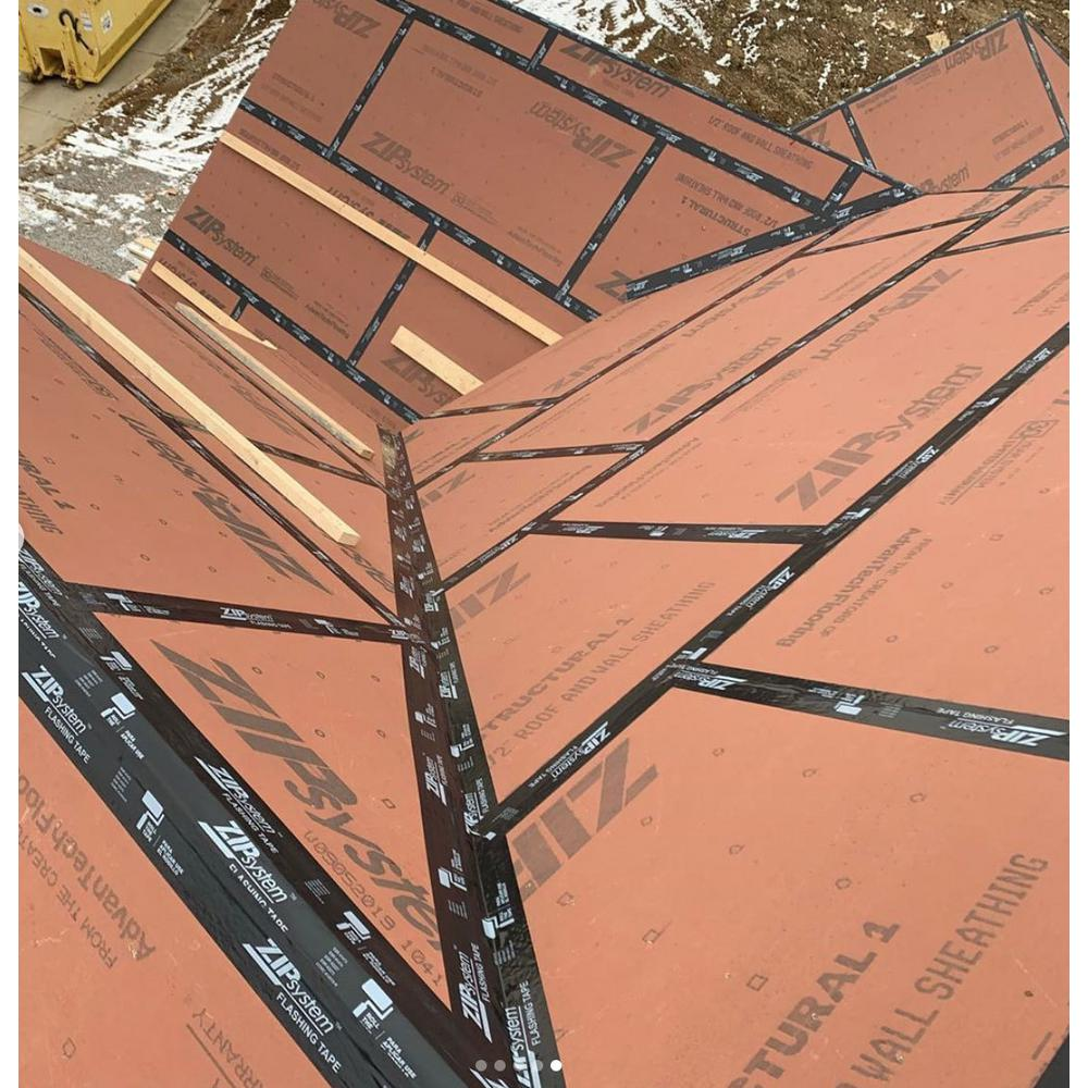 5 8 In X 4 Ft X 8 Ft Zip System Oriented Strand Board Roof Sheathing 1012110 The Home Depot