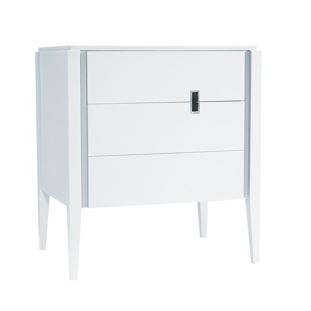 Ronbow Essentials Vanity Cabinet Only Glossy White